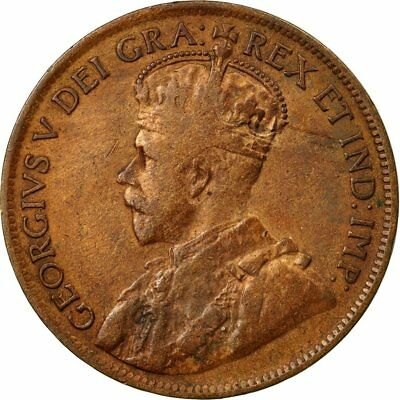 [#532105] Coin, Canada, George V, Cent, 1919, Royal Canadian Mint, Ottawa