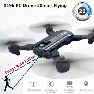 RC Drone with Camera 720p HD WiFi FPV 20 minutes Quadrocopter Altitude Hold