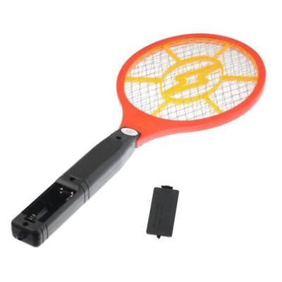 Mosquito Killer Electric Tennis Bat Racket Insect Fly Bug Zapper Wasp Swatter F2