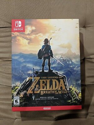 The Legend of Zelda: Breath of the Wild - Special Edition for Nintendo Switch