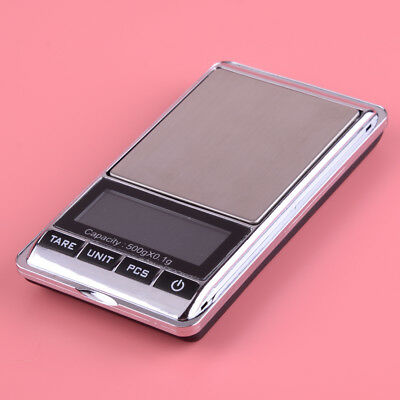 LCD Digital Electronic Balance Kitchen Food Jewelry Weighing Scales 500g/0.1g