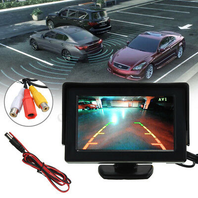 HD 4.3 inch LCD Video Security Tester CCTV Camera FPV Output Test Monitor