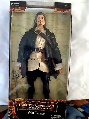 """Pirates of the Caribbean Dead Man's Chest Will Turner Figure 12"""" by Zizzle Mint"""