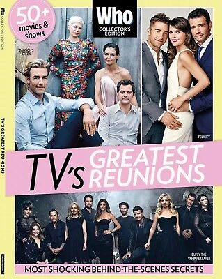 WHO TV's Greatest Reunions Collector's Edition Magazine New