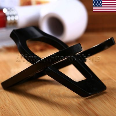 Foldable Stand Plastic Smoking Pipe Tobacco Cigarette Rack Stand Holder US STOCK