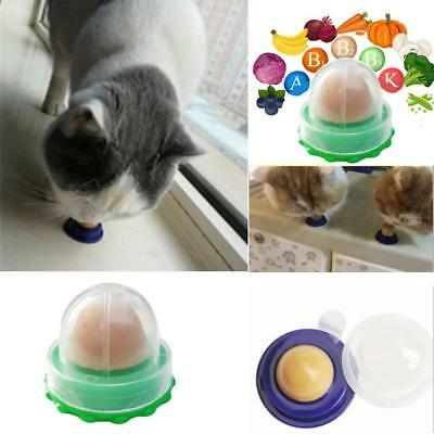 Healthy Cat Snacks Catnip Sugar Candy Licking-Solid Nutrition Energy Ball Toy