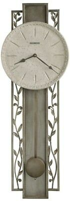 625-341 -Howard Miller Treviso Wall Clock With Antique Platinum Finish