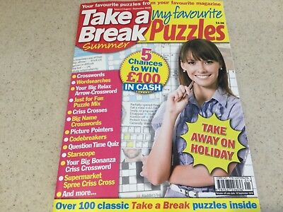 Take A Break My Favourite Puzzles Issue 1 September 2018