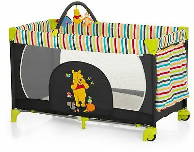 Hauck DISNEY DREAM N PLAY GO POOH TIDY TIME Baby/Child Travel Cot BNIP