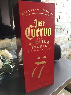 Jose Cuervo 'Rolling Stones' Limited Edition Holzkiste