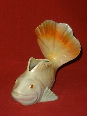 Vintage WEMBLEY WARE POTTERY Lustre Ware FISH Very Good Condition