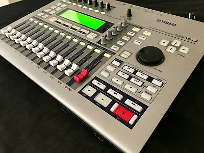 Yamaha AW16G Professional Audio Workstation - All-in-one Mixer/Recorder/CD-RW