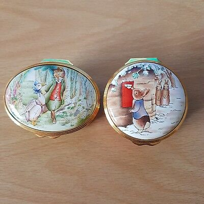 Peter Rabbit Enamel Beatrix Potter Series Trinket Boxs 1 limit addition