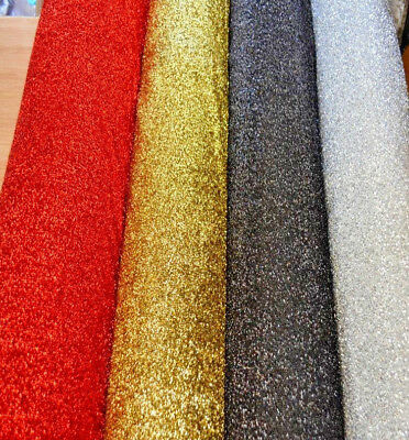 SPARKLE TINSEL Lurex Fabric Stretch Material / Metallic Rasta Glitter 150cm wide