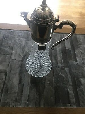 Genuine Silver Plated Wine Carafe