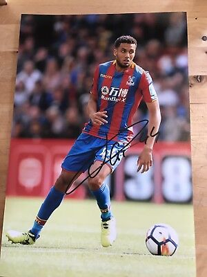 CRYSTAL PALACE JAIRO RIEDEWALD 12X8 photo SIGNED AUTOGRAPHED
