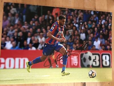 CRYSTAL PALACE JAIRO RIEDEWALD 12X8 photo SIGNED AUTOGRAPHED 3