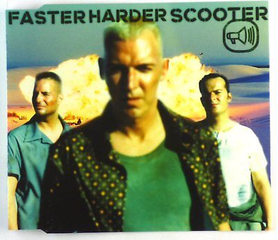 Maxi CD - Scooter - Faster Harder Scooter - A6175