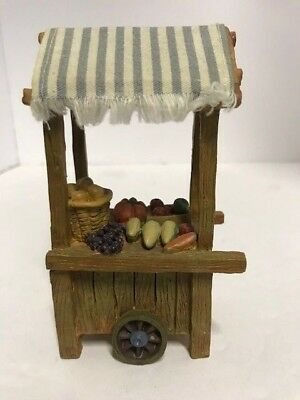 """Fontanini Fruit/Vegetable cart for 5"""" scale nativity 50210"""