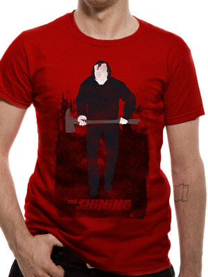 The Shining Heres Johnny Jack Torrance Axe Poster Official Red Mens T-shirt