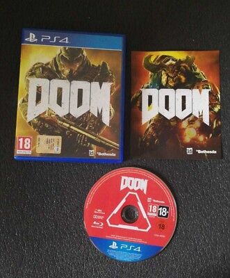 DOOM PlayStation 4 PS4 Italiano PAL - Completo!