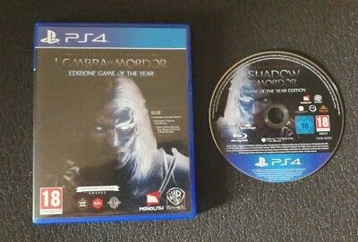 LA TERRA DI MEZZO: L'OMBRA DI MORDOR EDIZIONE GAME OF THE YEAR PlayStation 4 PS4