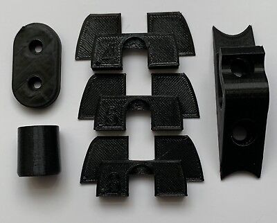 Xiaomi MiJia M365 M187 Scooter Mod Parts Rubber Flex Vibration Damper Black 3D