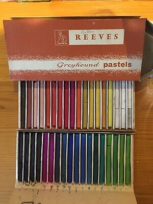 Reeves Greyhound Coloured Art Pastels In 36 Selected Colours
