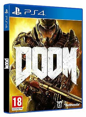 Doom (Ps4 Playstation 4 Video Game) *New/Sealed* Free Tracked Uk P&P