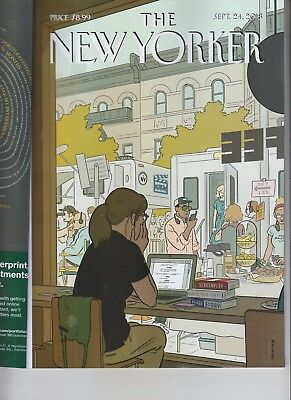 Fourth Wall The New Yorker Magazine Sept  24 2018 No Label Trump's Mouthpiece