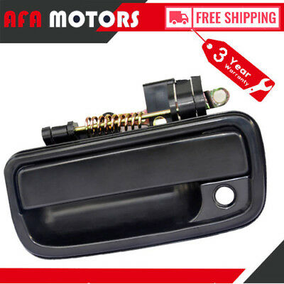 Texture Black Front Left Driver Side Outside Door Handle for 95-04 Toyota Tacoma
