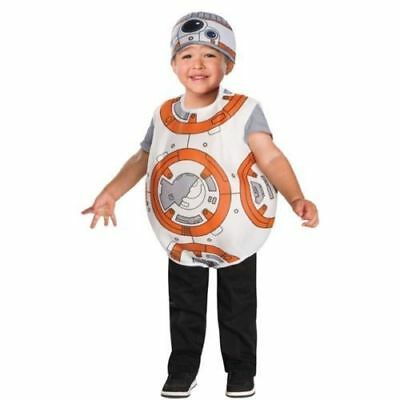 NEW Disney Star Wars BB-8 Child / Toddler Costume Size 2T-3T Rubies 510280 Kids