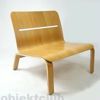 ▉▶David Design »BOWIE« Sessel Stuhl plywood chair Schweden 1990er källemo varier