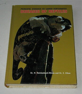 Vintage Reptile Book  Diseases Of Reptiles