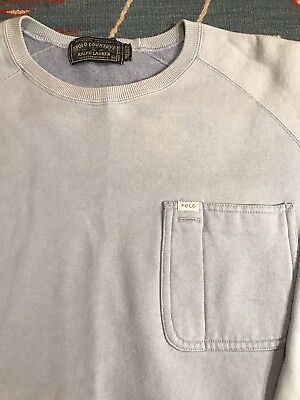 Vintage Polo Ralph Lauren Polo Country Crewneck Sweater Spellout