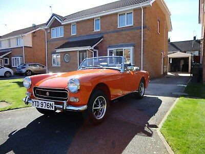 Mg Midget 1275 Rwa  - Fully Restored  2017-Showroom Condition  Mgb -Mgb Gt -Mgf