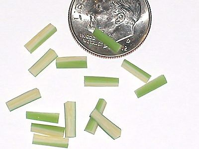 5pc Miniature dollhouse tiny lot CELERY STICKS Vegetable veggie slice food 7mm *