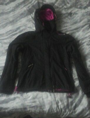 Superdry Windcheater Womens Hooded Artic Jacket Mesh Lined Bnwt Coat