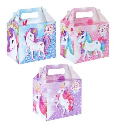 24 Mermaid Birthday Party Boxes ~ Childrens Fun Picnic Food Meal Loot Box
