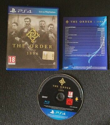 THE ORDER 1886 PlayStation 4 PS4 Italiano PAL - Completo!