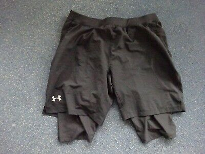 Under Armour Launch SW long Short Laufhose Gr. XL fitted Fitness