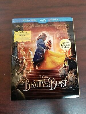 Beauty and the beast  blu ray+DVD (DIGITAL IS NOT INCLUDED)