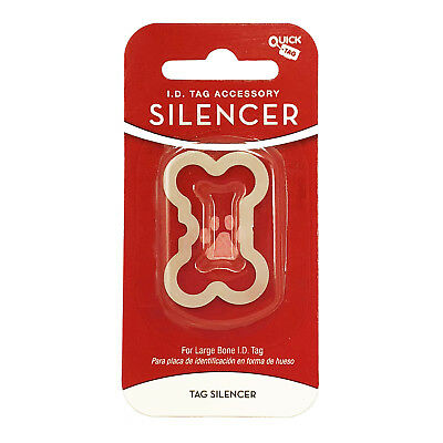 Quick Tag - Bone Shape Glow in The Dark Silencer - Large - Tag-Z