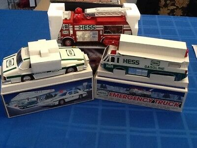 Hess Truck Collection, 3 Pieces. 1993,  1996 & 2005. Original Boxes.. Lot #3...