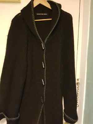 Ladies Simply Be Chunky Knit Hooded Cardigan Size 26