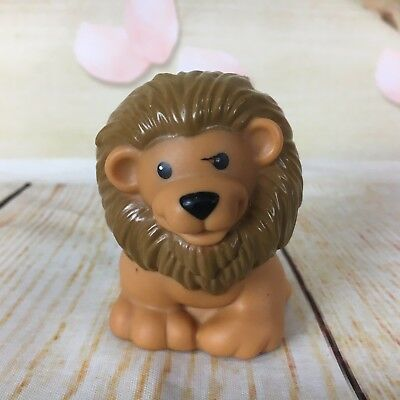 Fisher Price Little People Zoo Talkers Lion Animals Interactive Toy