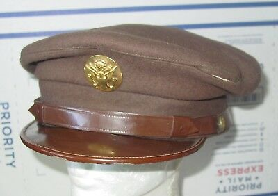 1940's Wwii Us Army Air Force Air Corps Enlisted Crusher Hat Usaaf/em Hat