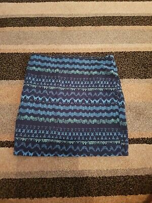 Ladies Blue Hollister Skirt Size M