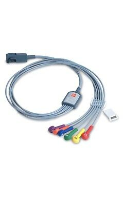 Physio Control 12-Lead ECG Cable with 6-wire Precordial Attachment 11111-000022