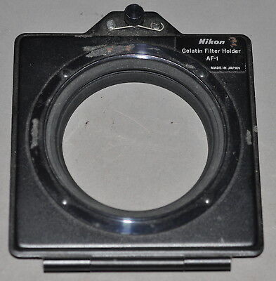 "AF-1 Nikon Gelatin Filter Holder for 3x3"" Gels on 52mm Lens"